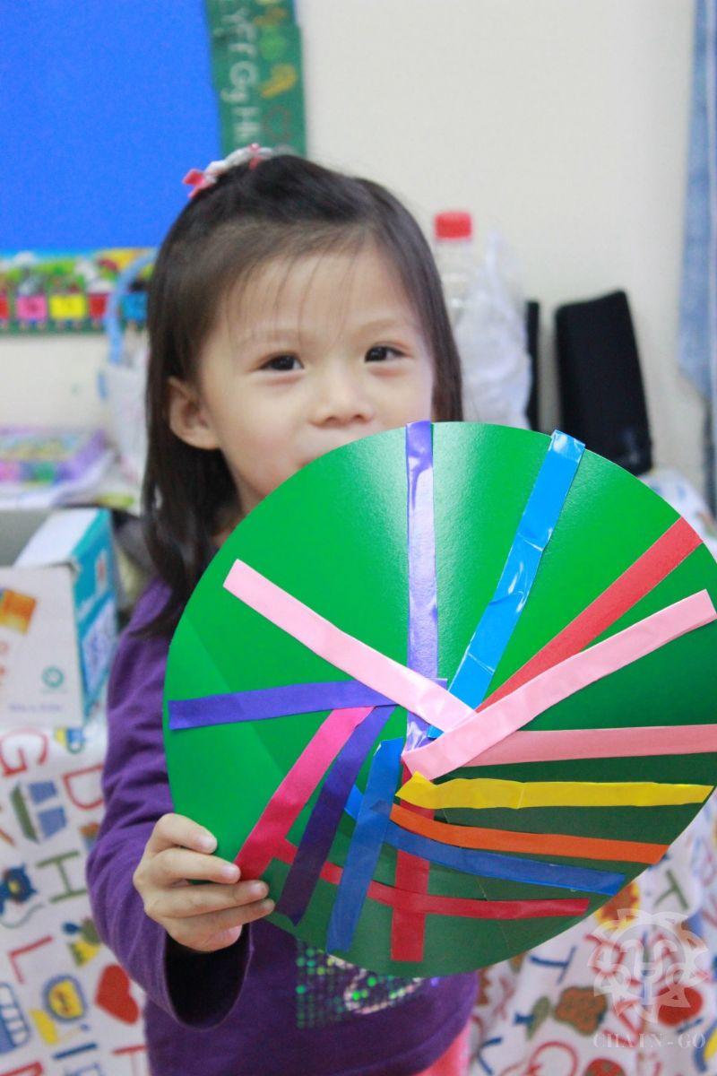 儿童手绘斗笠图